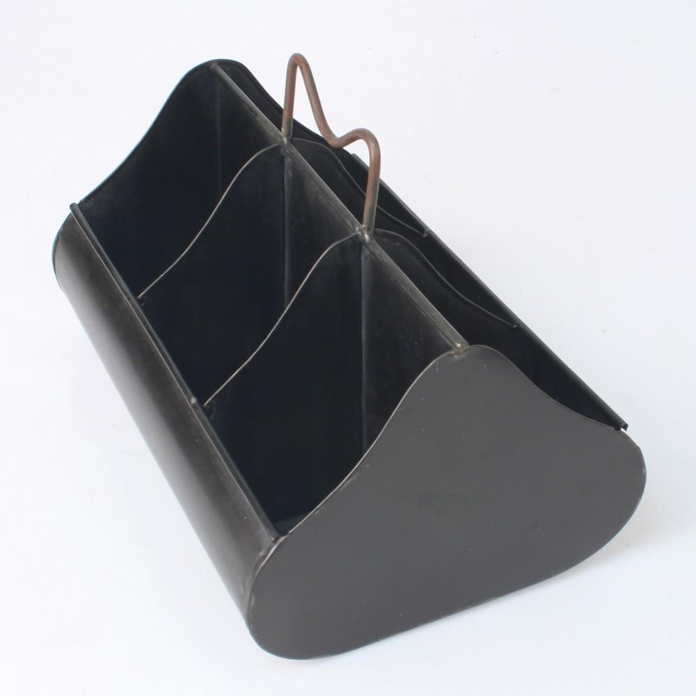 Image of Slate Steel Toolbox - Gray - Stonebriar
