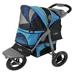 "Gen7Pets G7 Jogger Dog & Cat Stroller - 26""L x 14""W - Blue"