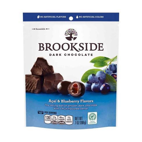Brookside Acai with Blueberry Flavors Dark Chocolate - 7oz ...