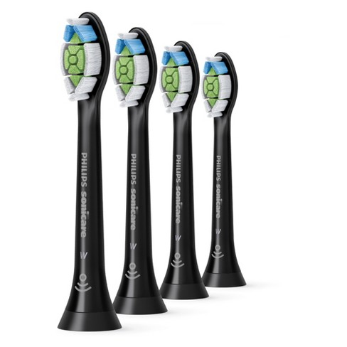 Philips Black Sonicare Diamond Clean Powered Toothbrush Head - 4ct - image 1 of 4