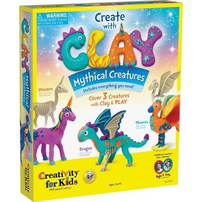 Creativity for Kids Create with Clay - Mythical Creatures