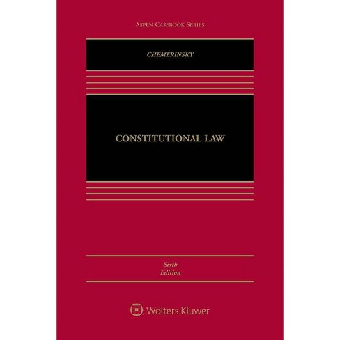 Constitutional Law - (Aspen Casebook) 6 Edition by  Erwin Chemerinsky (Hardcover) - image 1 of 1