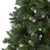 7.5ft Mixed Spruce Unlit Hinged Full Artificial Christmas Tree with Glitter Branches - Christopher Knight Home - image 4 of 4