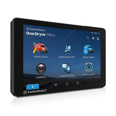 Rand McNally 8PROII OverDryve 8 Inch Wi-Fi Enabled All-In-One GPS Truck Navigator, Radio, Dash Cam, and Tablet with Bluetooth Magnetic Dash Mount
