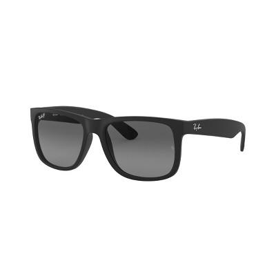 Ray-Ban RB4165 55mm Justin Unisex Square Sunglasses Polarized