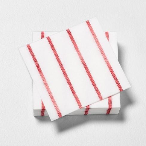 Beverage Napkin Americana Red Stripe - Hearth & Hand™ with Magnolia - image 1 of 2