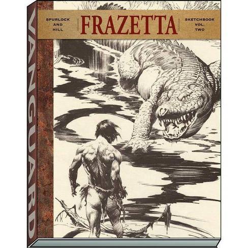 Frazetta Sketchbook (Vol II) - (Vanguard Frazetta Classics) by  J David Spurlock (Paperback) - image 1 of 1