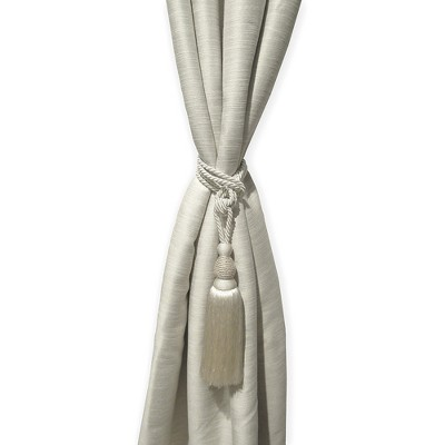 "Julia Rhinestone Tassel Window Curtain Tieback - 26"" - Elrene Home Fashions"