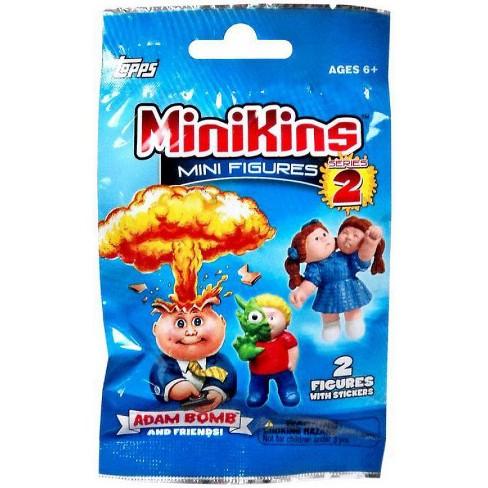 Garbage Pail Kids MiniKins Series 2 Mini Figure Mystery Pack [2 Figures Per Pack] - image 1 of 1