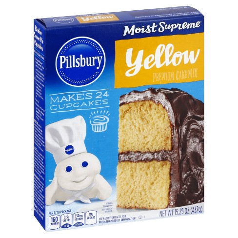 Pillsbury Moist Supreme Classic Yellow Cake Mix - 15.25oz - image 1 of 4