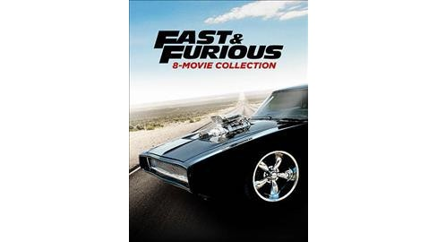 Fast and the Furious 8 Movie Collection (DVD) - image 1 of 1