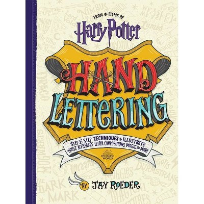 Harry Potter Hand Lettering - by Jay Roeder (Paperback)