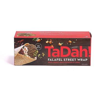 Tadah Frozen Falafel Wrap Sweet & Spicy Harissa - 7.5oz
