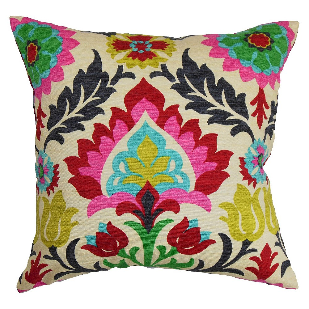"Image of ""Boho Throw Pillow Pink (20""""x20"""") - The Pillow Collection"""