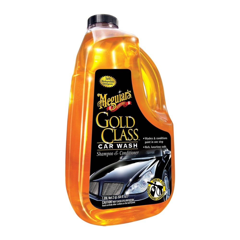 Meguiars 64oz Gold Class Shampoo And Conditioner Car Wash