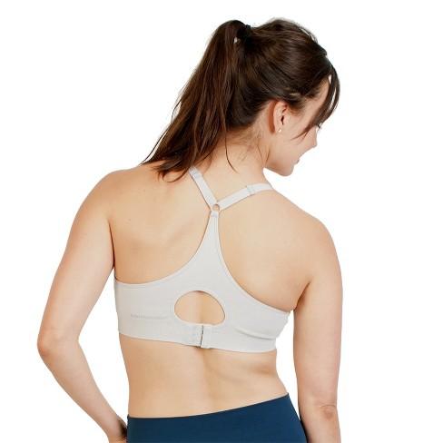 cf9516aca Bamboobies Yoga Nursing Bra- Black   Target