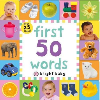 First 50 Words - BRDBK by Nicola Friggens & Natalie Munday & Amy Oliver (Hardcover)