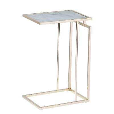 Colbi Glass-Topped C-Table - Holly & Martin
