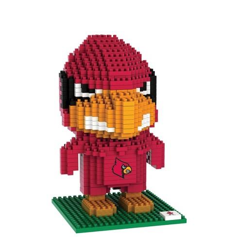 NCAA Louisville Cardinals 3D BRXLZ Mascot Puzzle 1000pc - image 1 of 1