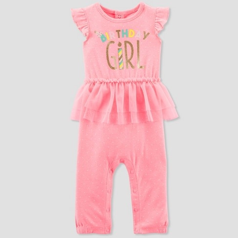 5954dbaf83e0 Baby Girls  Romper Tutu Set - Just One You™ Made By Carter s® Pink ...