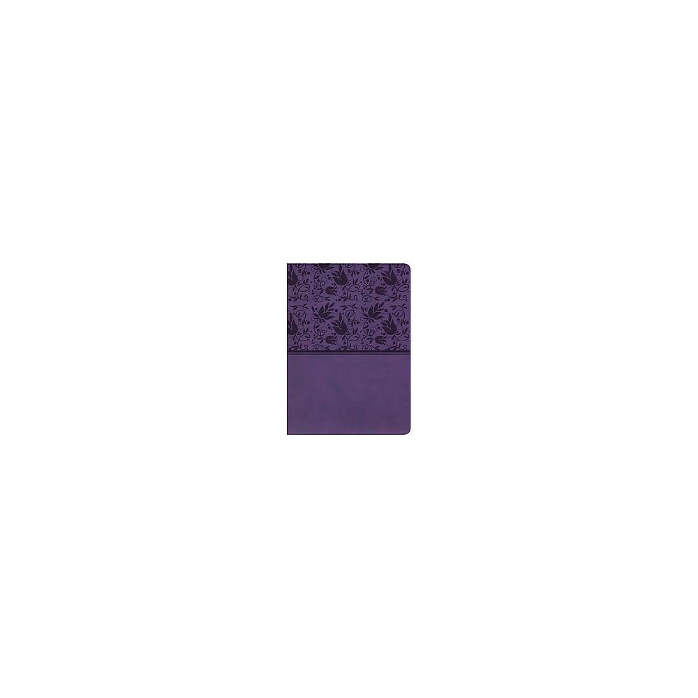 Holman Study Bible : New King James Version, Purple, Leathertouch (Paperback)