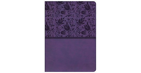 Holman Study Bible : New King James Version, Purple, Leathertouch (Paperback) - image 1 of 1