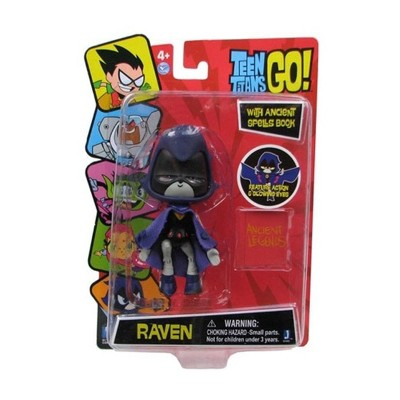 "The Zoofy Group LLC Teen Titans Go! Raven 5"" Action Figure"