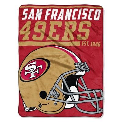 NFL San Francisco 49ers Micro Fleece Throw Blanket