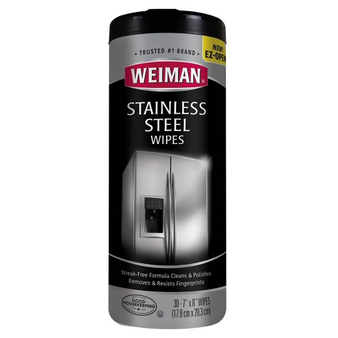 Weiman Stainless Steel Wipes - 30ct - image 1 of 3