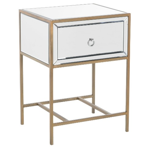 Rodeo End Table Mirrored Gold - Christopher Knight Home - image 1 of 4