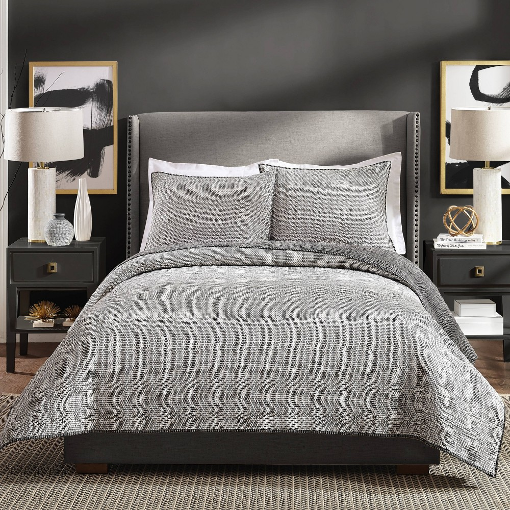 Image of Ayesha Curry King Graphite Quilt Gray