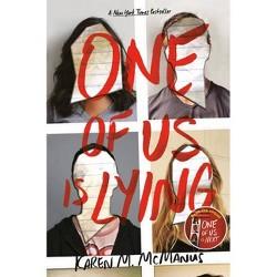 One of Us Is Lying -  by Karen M. Mcmanus (Hardcover)