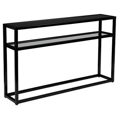 Console Table Soft Black - Holly & Martin