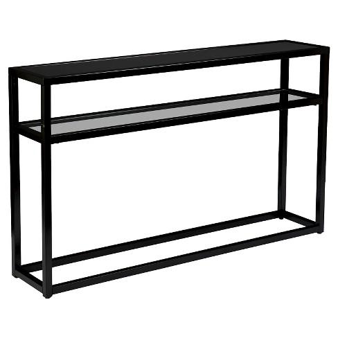 Console Table Soft Black - Holly & Martin - image 1 of 3