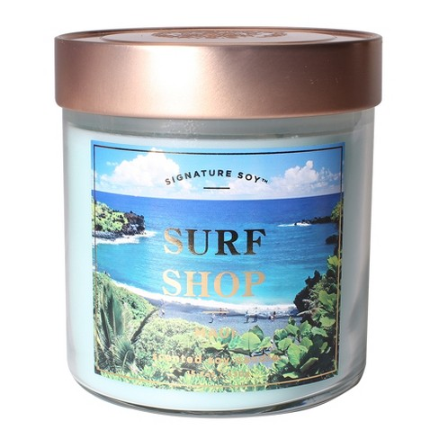 Small Glass Jar Candle Surf Shop 15.2oz - Signature Soy - image 1 of 1
