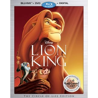 The Lion King: The Walt Disney Signature Collection (Blu-Ray + DVD + Digital)