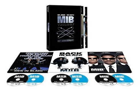 Men In Black Trilogy: 20th Anniversary Edition (4K/UHD + Blu-ray) - image 1 of 1
