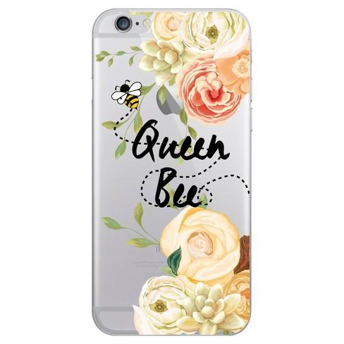 promo code c057d 296ce OTM Essentials Apple iPhone 8/7/6s/6 Hybrid Clear Case - Queen Bee