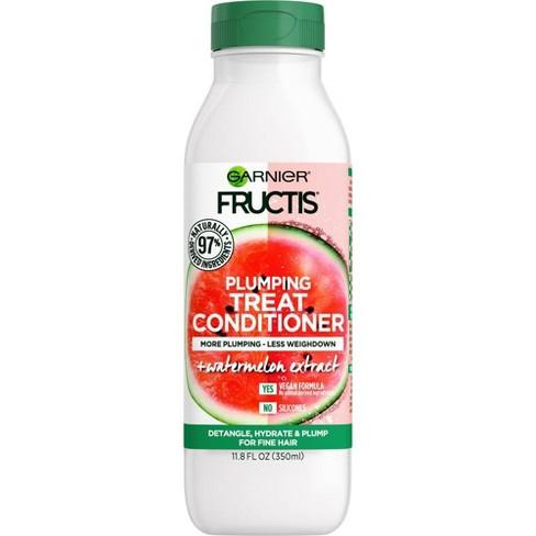 Garnier Fructis Plumping Treat Conditioner Watermelon for Fine Hair - 11.8 fl oz - image 1 of 4