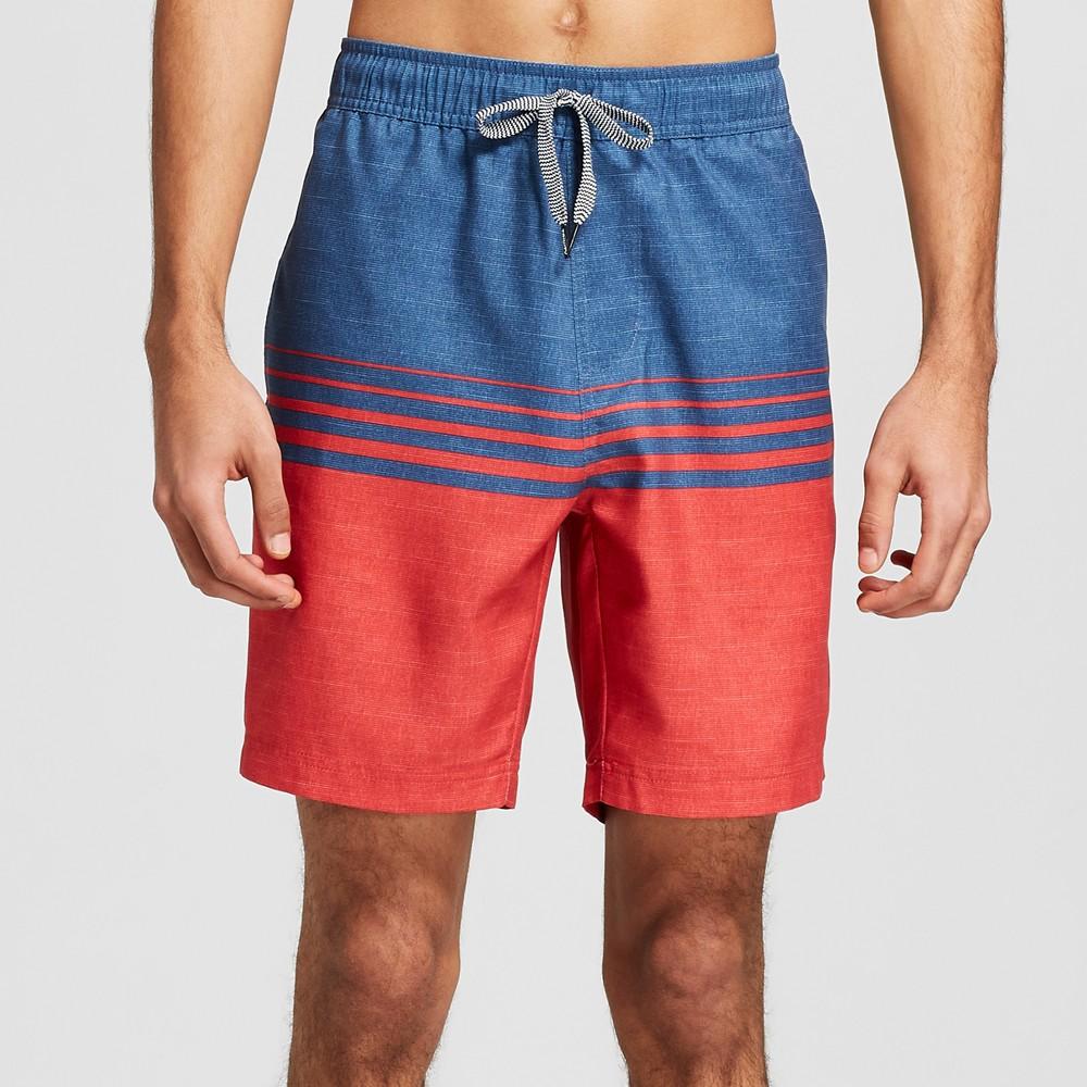Men's 7.5 Chard Elastic Waist Board Shorts - Trinity Red S
