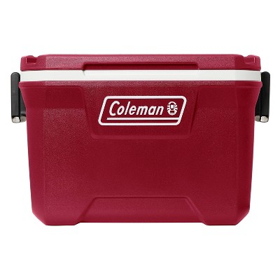 Coleman 52-Quart Hard Ice Chest Cooler - Mahogany Red