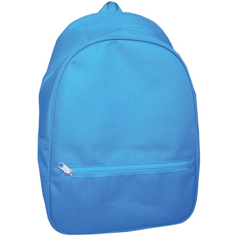 School Smart Youth Backpack with Hidden Zipper, 14-1/2 x 9-4/5 x 6 Inches, Blue - image 1 of 1