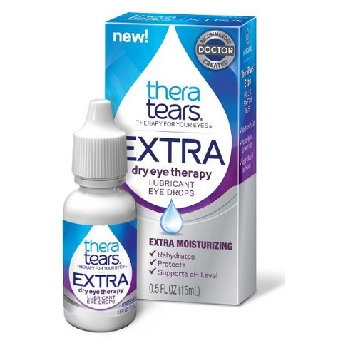 Thera Tears Extra TM Dry Eye Therapy Lubricant Eye Drops - 15ml - image 1 of 1