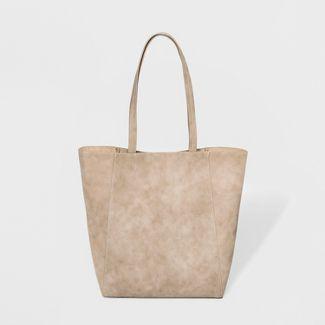 Unlined Tote Handbag - Universal Thread™ Cognac