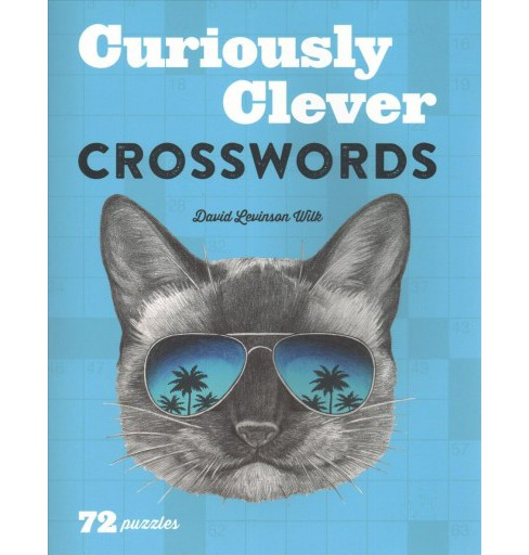 Curiously Clever Crosswords -  by David Levinson Wilk (Paperback) - image 1 of 1