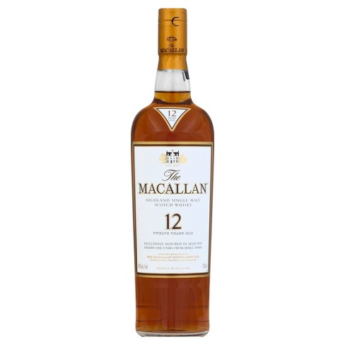 Macallan 12yr Scotch Whisky - 750ml Bottle - image 1 of 1