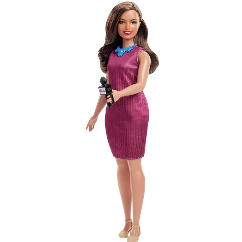 Barbie Careers 60th Anniversary News Anchor Doll - image 1 of 4