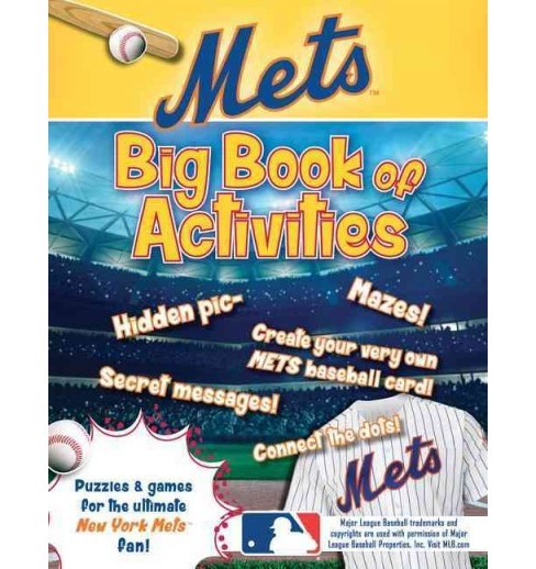 New York Mets : The Big Book of Activities (Paperback) (Peg Connery-Boyd) - image 1 of 1