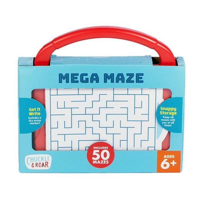 Chuckle & Roar Mega Maze - Portable Travel Mazes : Target