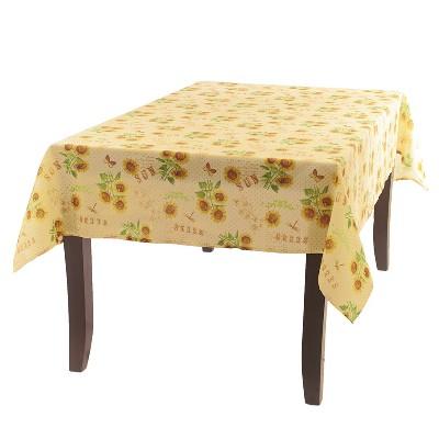 Lakeside Sunshine Seeds Rectangle Tablecloth - Primitive Home Decor